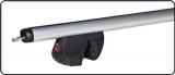 Багажник Amos на релинги: FUTURA, аэродинамика L=1,2m