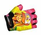 Детские велоперчатки PowerPlay 5473 Барби
