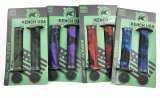 Грипсы BMX Kench USA с фланцами, двухцветные