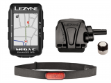 Компьютер GPS LEZYNE MEGA C + датчик пульса и скорости