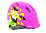 Шлем детский R2 DUCKY, розово-желтый