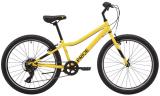 "Велосипед 24"" PRIDE BRAVE 4.1, жовтий"