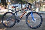 "Велосипед 26"" Avanti Premier (black/orange&blue)"