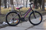 "Велосипед 26"" Intenzo COSTA SUS V-brake, чорний"