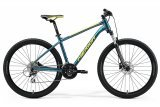 """Велосипед 27.5"""" Merida BIG.SEVEN 20, 2021, TEAL-BLUE"""