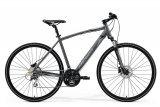 """Велосипед 28"""" Merida Crossway 20-D, 2021, сірий"""