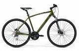 "Велосипед 28"" Merida Crossway 20-D, 2021, зелений"