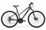 """Велосипед 28"""" Merida Crossway 20-D Lady, 2021, сірий"""