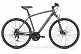 """Велосипед 28"""" Merida Crossway 40, 2021, сірий"""