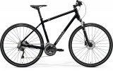 "Велосипед 28"" Merida Crossway 500, 2021, чорний"