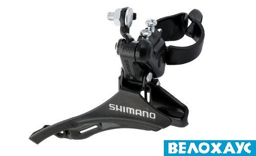 Перекидка передняя Shimano FD-TZ30 Down-Swing, верхняя тяга