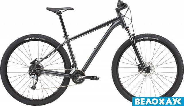 Велосипед 29 Cannondale Trail 5 (2020), серый